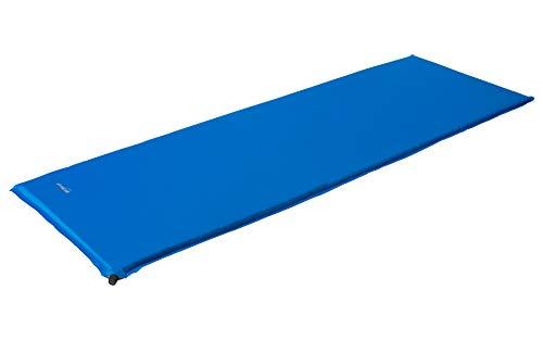 BERGER selbstaufblasende Isomatte Comfort blau Verschiedene Größen Liegematte (7,5)
