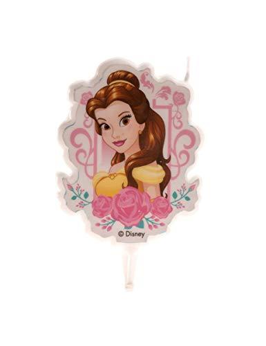 Dekora - Candela di compleanno 2D Bella Disney