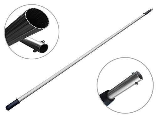 FenWi 10m Profi Aluminium Teleskopstange/stufenlos von 282 bis 1000 cm Verstellbarer Alu Teleskopstiel (10 m Teleskopstab)