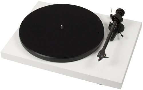 Pro-Ject Debut Carbon Phono USB (DC) - Tocadiscos (2.0, DC, 15V, 1W, Color blanco, Metal)