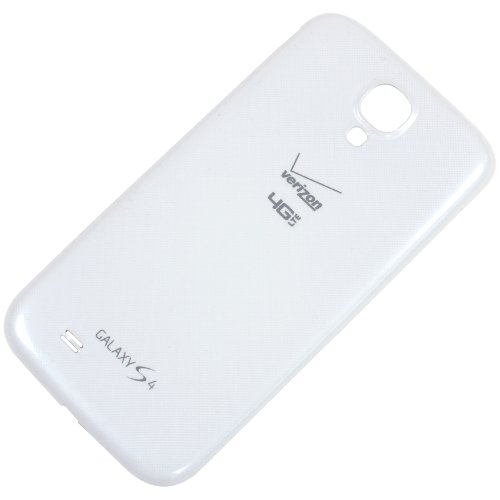 Battery Back Door Cover Replaement For Samsung Galaxy S4 i545 Verizon - White Frost