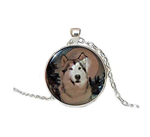 Collar de Husky Siberiano, I Love Huskies, Perro Amante, Perro Regalo, Perro...