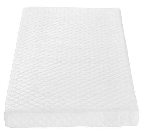 Tutti Bambini Sprung Cot Mattress (60 cm X 120 cm) Breathable Spring Baby Bed Mattress - Made from Just Tec Technology