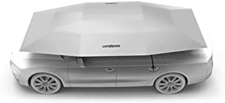 Lanmodo Automatic Folded Umbrella Shelter with Remote Control Portable Car Protection Cover - Silver