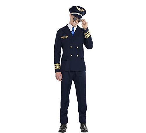 Car&Gus Disfraz de Piloto de Avión para Hombre