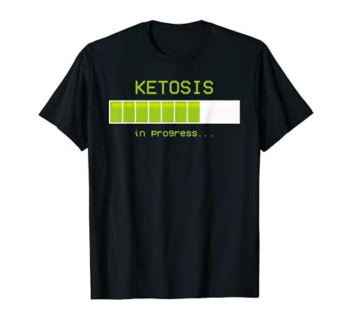 Ketogenic Diet Ketosis Entrenamiento Keto Life Ketones Slogan Idea Camiseta