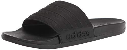 Adidas mens Slide Sandal, CBLACK/CBLACK/CBLACK, 15 US