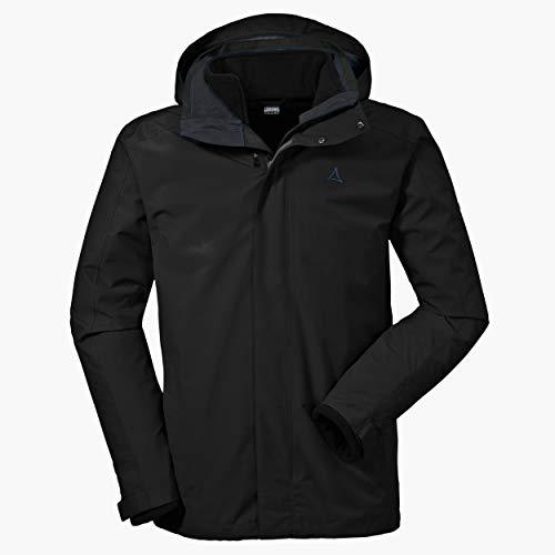 Schöffel Herren 3in1 Turin1 Jacke, black, 52