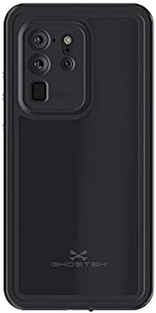 Ghostek Nautical Waterproof Case for Galaxy S20 Plus with Screen Protector Built-in and Protects Camera Full Body Protective Rugged Heavy Duty Cover for 2020 Galaxy S20+ Plus 5G  6.7 Inch  -  Black