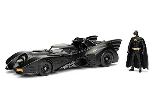 JADA TOYS 1/24スケール バットマン BATMAN バットモービル バットマン(1989) バットマンフィギュア付き 完成品ダイキャストミニカー JADA98260
