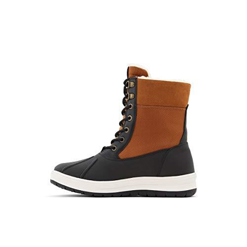 ALDO Women's Powder Warm Winter Boots Waterproof, Cognac, 9