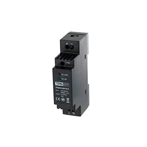10W / 12V-15V Hutschienen-Netzteil, stabilisiert, TDR10-12VK, 830mA - TPS Elektronik