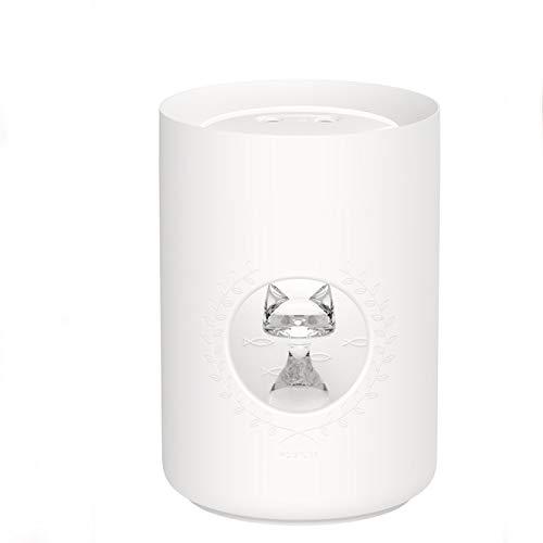 MHBY Humidificador, difusor de humidificador de Aire ultrasónico 800ML Boquilla Doble Lindo Gato difusor de Aroma USB portátil luz LED máquina de Niebla de Aire humidificador