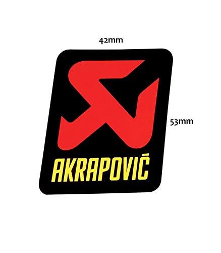 Akrapovic Emblem Aufkleber