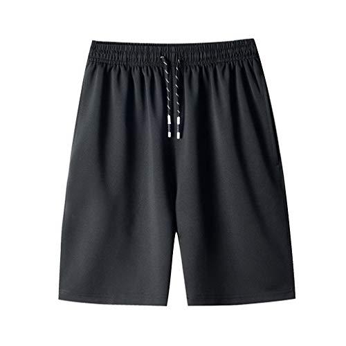 KEERADS Homme Short et Bermuda Pantalon Court De Sport Jogging Casual Short Loisirs Plage Shorts Cargo Homme Coton Casual Bermudas Cargo avec Multi Poches Pantacourt