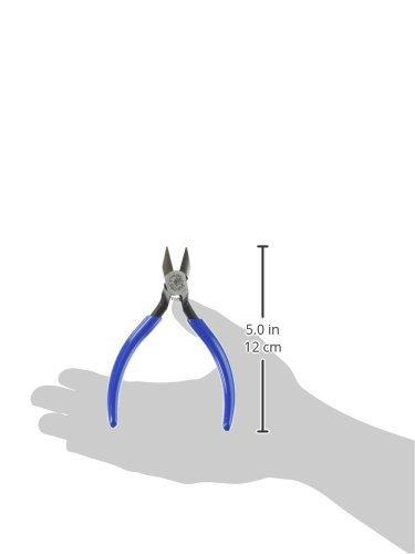 Klein Tools Pliers, Electronics Diagonal Flush Cutters, 5-Inch D244-5C