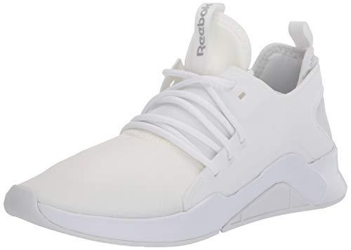 Reebok Women's GURESU 2.0 Dance Shoe, White/True Grey/Silver Metallic, 9.5 M US