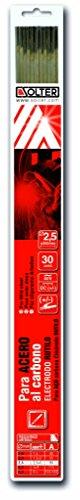 SOLTER - Electrodos de rutilo E6013 (2,5 x 350 mm, 30 unidades)