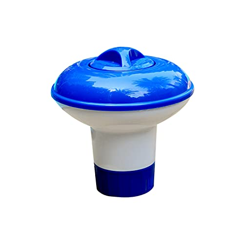 Flytise Mini dispenor de Flotador, dispenor de tabletas de Cloro para Piscina, SPA, Jacuzzi y Fuente, Piscinas inflables sobre el Suelo Dispensador Mini Flotador