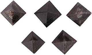Aatm Energy Generator Gemstone Labradorite Pyramid Set of 5 (13mm to 14mm)
