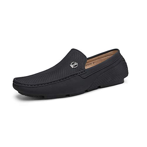 Bruno Marc Men's Casual Loafers Slip On Driving Shoes Black Size 8 US/ 7 UK...