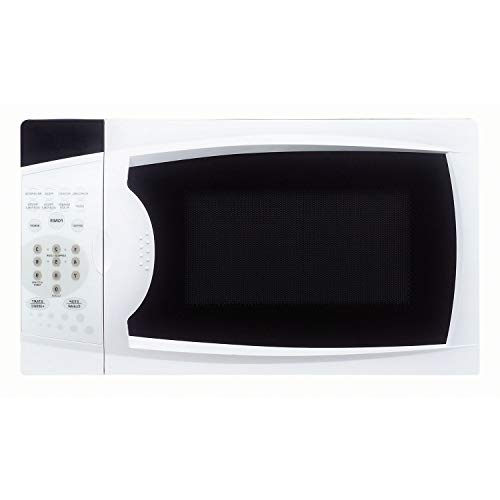 OKSLO 0.7 cu. ft. 700w countertop microwave oven in white