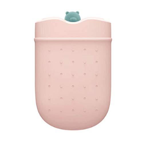 LZL Botella de Agua Caliente de llenado Calentadores de Mano, Invierno Ayudas for calmar el Dolor de la Artritis e incómodo Enfermos (Color : Pink)