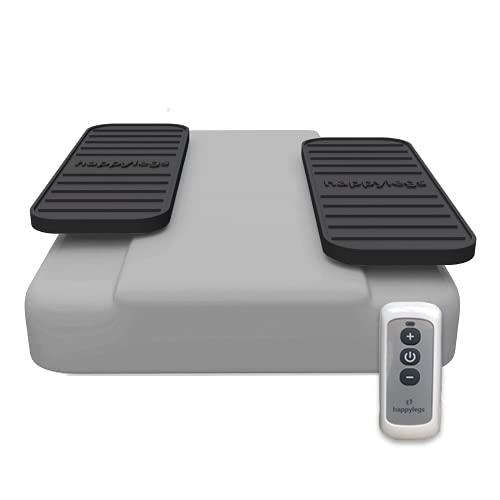 Happylegs Silver Plus - Ejercitador de Gimnasia Pasiva Piernas con Mando Inalámbrico| +25% Velocidad | La Máquina de Andar Sentado Rehabilitación y Piernas Cansadas | Mejora la Circulación sanguínea. ⭐