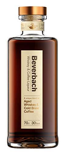 BEVERBACH Whiskey & Coffee Liqueur, 30% vol., Whiskey Blend aus BEVERBACH Whiskey und Arabica Cold Brew Coffee (1 x 0.7 l)