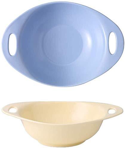 Bol Tazón de Sopa de Cebolla Francesa de 18 Piezas de Doble Pieza de 18 Piezas, para lasaña, Cereal, Ensalada, Cena de Pastel, Cocina