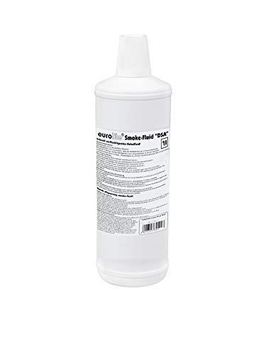 Eurolite Smoke Fluid -DSA- Effekt 1 Liter | Nebelfluid für Nebelmaschinen | Extrem hohe Dichte und sehr kurze Standzeit | Made in Germany | Geruchsneutral auf Wasserbasis | Biologisch abbaubar