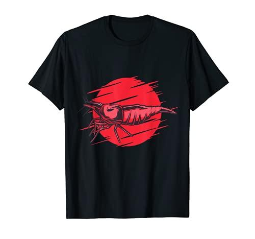 Red Fire Crewn Aquarist T-Shirt
