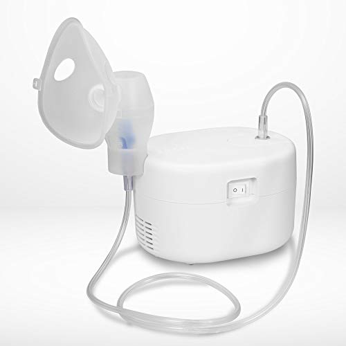 Omron Ultra Compact & Low Noise Compressor Nebulizer for Child & Adult (White)