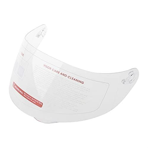 Burning Lente de Visera de Casco de Motocicleta, Motorcycle Anti-Scratch Wind Shield Helmet Lens Visor Face Face Fit para A-G-V K1 K3SV K5 Accesorios de la Motocicleta (Color : 3)