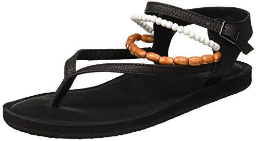O'Neill Damen FW Batida Beads Sandal Riemchensandalen, Schwarz (Black Out 9010), 39 EU