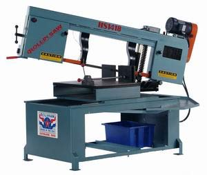 Buy Bargain Roll-In Saw HS1418 440V 3PH 14-Inch American Horizontal 60 Degree Mitering Wet Band Saw