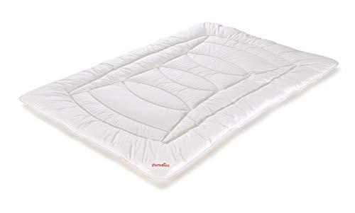 PARADIES Hibea Bio Bettdecke 135x200 cm - Ganzjahresbettdecke, Öko Test GUT, Öko-Tex Zertifiziert Standard 100 Klasse 1, das Bio Bett - natürlich und fair