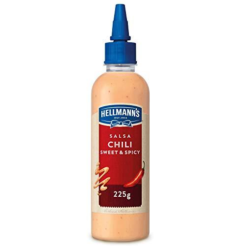 Hellmann'S Street Food Salsa Chili Sweet and Spicy, 215ml