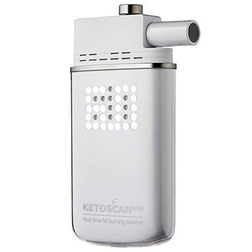 ケトンメーター ケトン体 チェッカー ケトスキャンmini 呼気式 測定器 マウスピース付 スマホ連動