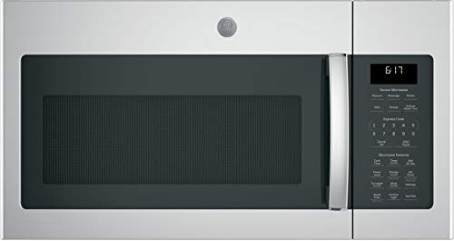 GE JVM6175YKFS 1.7 Cu. Ft. Over-the-Range Microwave, Stainless Steel