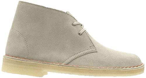 Clarks Damen Desert Boots, Beige (Sand Suede), 37 EU