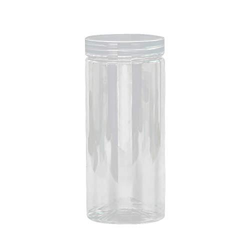 Vorratsdosen Frischhaltedosen Müslibehälter Vorratsbehälter für Lebensmittel, Vorratsbehälter Frischhaltedosen aus PP Kunststoff, BPA-frei, um Lebensmittel frisch zu halten (8x6,5cm)