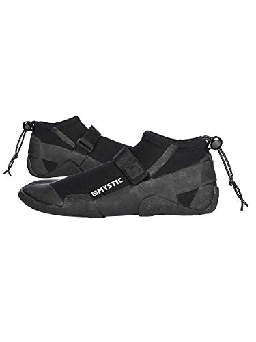 Mystic Watersports - Surf Kitesurf & Windsurfen Majestic Marshall 3mm Neopren Neoprenanzug Schuhe Schuh Split Toe - Schwarz