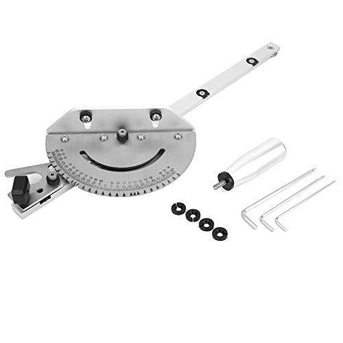 Tronzadora adaptada, lijadora de disco para arenadora ligera ingletadora de acero inoxidable Regla de aluminio para sierra de mesa Sierra de cinta