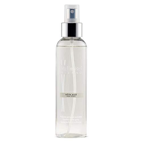Millefiori Milano 7SRMB Spray Parfum d'Ambiance Natural, Verre, Blanc, 4,2 x 5 x 16,7 cm