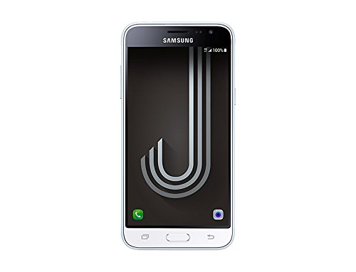 Samsung J320 Galaxy J3 Smartphone da 8 GB, Display 5  SAMOLED, Memoria RAM 1.5 GB, Fotocamera 8 MP, Marchio Tim, Bianco [Italia]