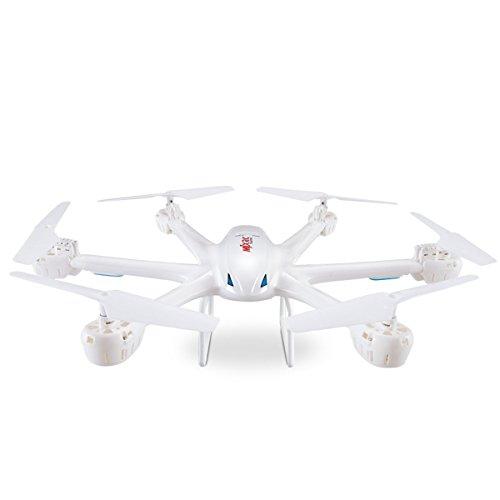 GizmoVine MJX X600 Drone 6-Assi GYRO Esacottero 2.4GHz 4 Canale X-Series Elicottero RTF RC Drone Telecomando con modalità Headless Ritorno Automatico Un Tasto Funzione 3D Roll (X600 Nero)