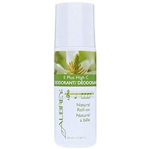 Aubrey Organics E Plus High C Roll-On Deodorant, 3-Ounce Package (Pack of 2)