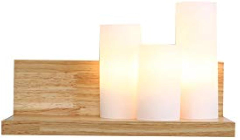 SUNTRE HWSUS Wandleuchte Warme Und Einfache Art Und Weise Kreative Kann Für Massivholz Heimtextilien Gre 12  20 cm (Dieses Produkt Enthlt Nicht Licht)