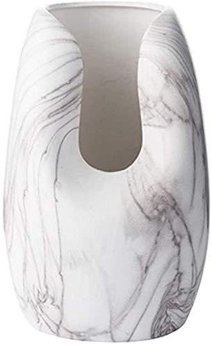 Vaas keramische vaas handgemaakte Craft Marble Wave Fles kan worden geplaatst in het kantoor, TV kast, Eettafel 34 * 15 cm), Afmetingen: 34 * 15cm (Size : 25.5 * 15cm)